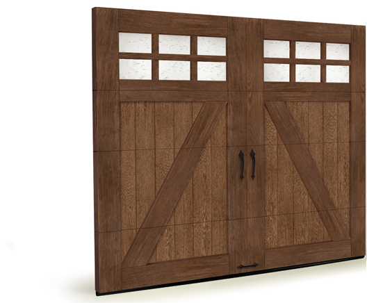Faux wood garage doors gab 39 s garage entry doors the for Faux wood doors